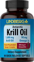 Huile de Krill antarctique 90 Capsules molles à libération rapide