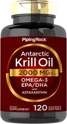 Antarctic Krill Oill, 2000 mg (per serving), 120 Softgels