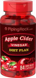 Diät-Apfelweinessig 84 Kapseln mit schneller Freisetzung
