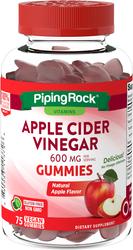 Appelciderazijn (natuurlijke appel) 75 Vegan Gummies