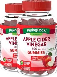 アップルサイダービネガー(天然アップル) 75 Vegan Gummies