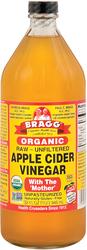 Apple Cider Vinegar w/Mother Organic Liquid, 32 Fl Oz