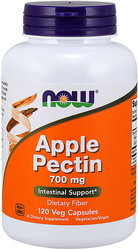 Apple Pectin 700 mg, 120 Veg Capsules