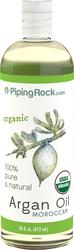 Aceite de argán, oro líquido marroquí puro (orgánico) 16 fl oz (473 mL) Botella/Frasco