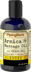 Óleo de massagem de arnica 4 fl oz (118 mL) Frasco