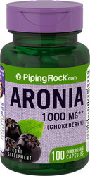 Aronia 1000 mg (Chokeberry) 100 Capsules