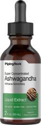 Flydende Ashwagandha-ekstrakt (citrussmag) 2 fl oz (59 mL) Pipetteflaske