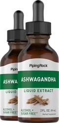 Ekstrak Cecair Ashwagandha 2 fl oz (59 mL) Botol Penitis