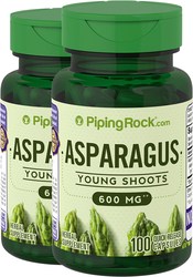 Asparagus 600 mg  2 Bottles x 100 Capsules