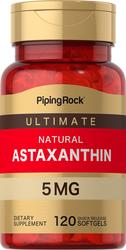 Astaxantina  120 Cápsulas blandas de liberación rápida
