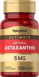 Astaxantin  120 Hurtigvirkende myke geleer