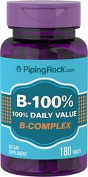 B-100 Vitamin B Complex 180 Tabletter