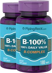 B-100 ビタミン B 複合体 180 錠剤