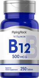 B-12, 500 mg, 250 Tablets