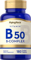 B-50 Vitamin B Complex 180 Overtrukne kapsler