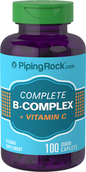 Complesso B + vitamina C 100 Pastiglie rivestite