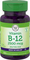B12 2500 mcg Lozenges + Folic Acid 400 mcg
