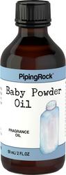 Óleo perfumado de talco para bebé 2 fl oz (59 mL) Frasco