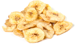 Sweet Banana Chips 1 lb (454 g) Bag