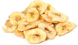 Chips de banana biológica açucaradas 1 lb (454 g) Saco