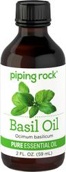 Aceite esencial de albahaca, puro 2 fl oz (59 mL) Botella/Frasco