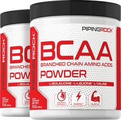 Poudre de BCAA (acides aminés ramifiés) 9 oz (255 g) Bouteilles