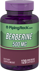 Berberina HCL 120 Cápsulas de liberación rápida