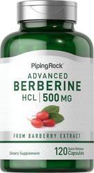 Berberine HCL 500mg 120 Capsules