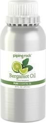 Huile essentielle pure à la bergamote (GC/MS Testé) 16 fl oz (473 mL) Bidon
