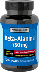 Beta Alanine 750 mg, 120 Caps