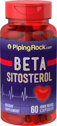Beta Sitosterol Supplement 160 mg 60 Capsules