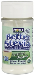 Stevia Extract Powder 1 oz (28 g) Bottle
