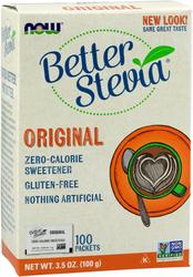 Экстракт стевии Better Stevia (оригинальный), 100 пакетиков 3.5 oz (100 g) Коробка