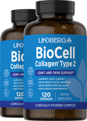 BioCell Collagen,120 Capsules x 2 Bottles