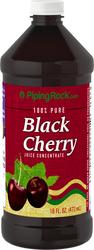 Concentrado de cereza negra 16 fl oz (473 mL) Botella/Frasco