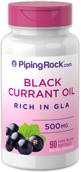 Black Currant Seed Oil 500 mg 90 Softgels