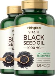 Black Seed Oil, 1000 mg, 120 Softgels, 2  Bottles