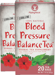 Blood Pressure Herb Tea 2 Boxes x 20 Tea Bags