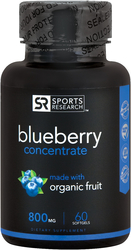 Blueberry Concentrate 800 mg, 60 Sg