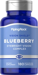Blueberry Vision Supplement Complex 180 Capsules
