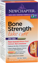 Bone Strength Take Care (calcio de origen vegetal) 120 Tabletas