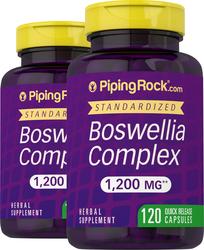 Boswellia Serrata 1200 mg 2 x 120 Capsule Bottles Benefits & Uses