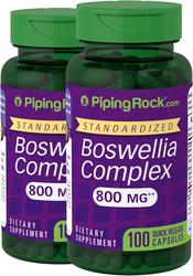 Complexe standard de Boswellia Serrata 100 Gélules à libération rapide
