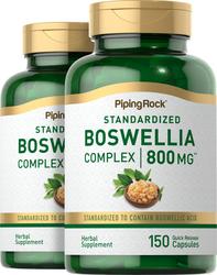 Boswellia Serrata Standardized Complex, 800 mg, 150 Quick Release Capsules