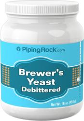 Brewer's Yeast Powder (Debittered), 16 oz