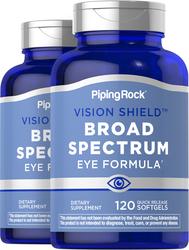 Broad Spectrum Eye Formula, 120 Softgels x 2 Bottles