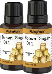 Brown Sugar Fragrance Oil 2 x 1/2 oz (15 ml)