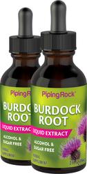 Extracto líquido de raíz de bardana - Sin alcohol 2 fl oz (59 mL) Frasco con dosificador