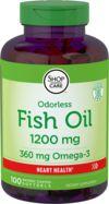 Boervrije beklede omega-3 visolie  100 Softgels