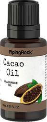 Cacao Huiles de Parfums 1/2 fl oz (15 mL) Compte-gouttes en verre